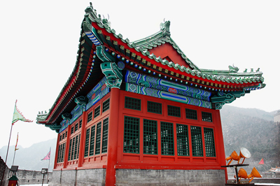 Chinese Architecture on the Great Wall of China