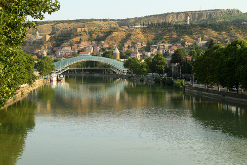 Georgia: Bridge of Peace in Tbilisi