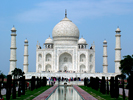 Taj Mahal in India, South Asia