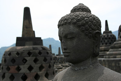 Indonesia: Borobudur Temple in Java