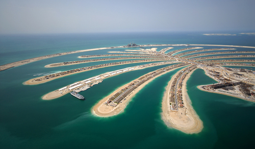 United Arab Emirates: Jumeirah Palm Island